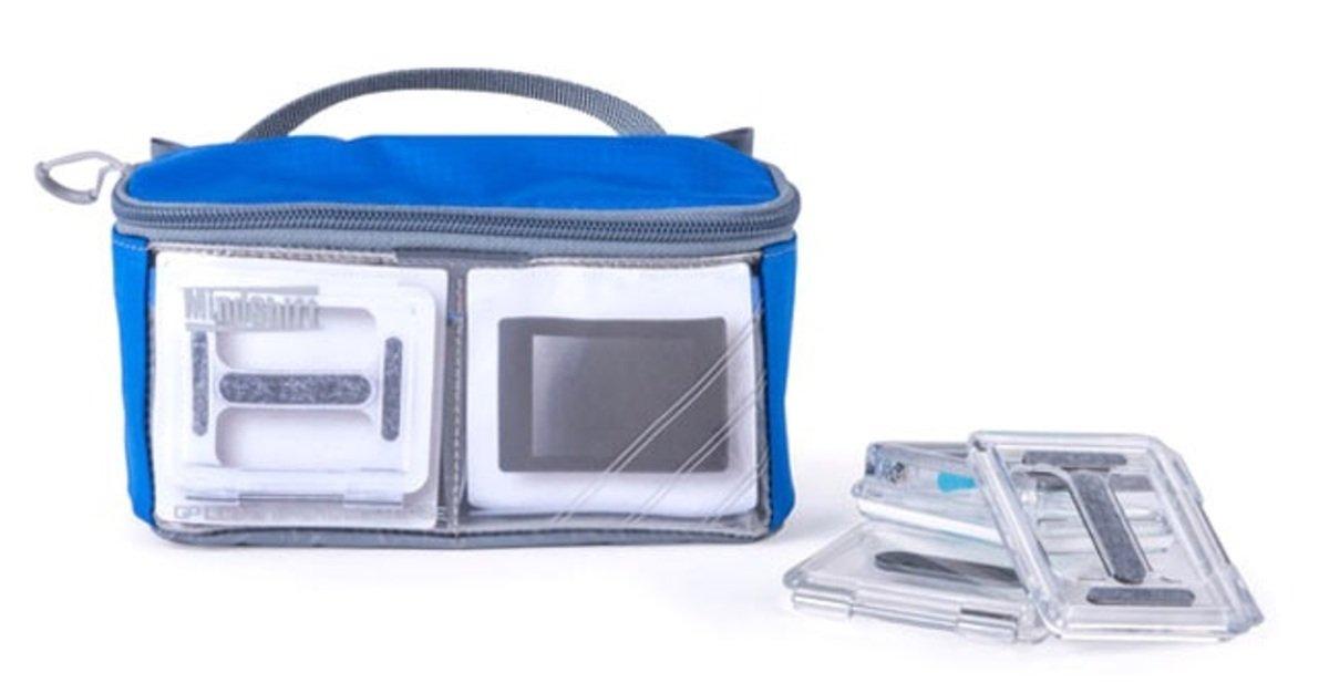 GP LCD螢幕及機身背殼收納包-暮光藍