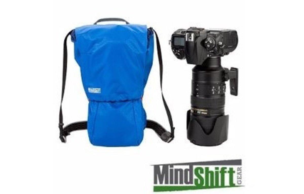 相機隨身袋-暮光藍