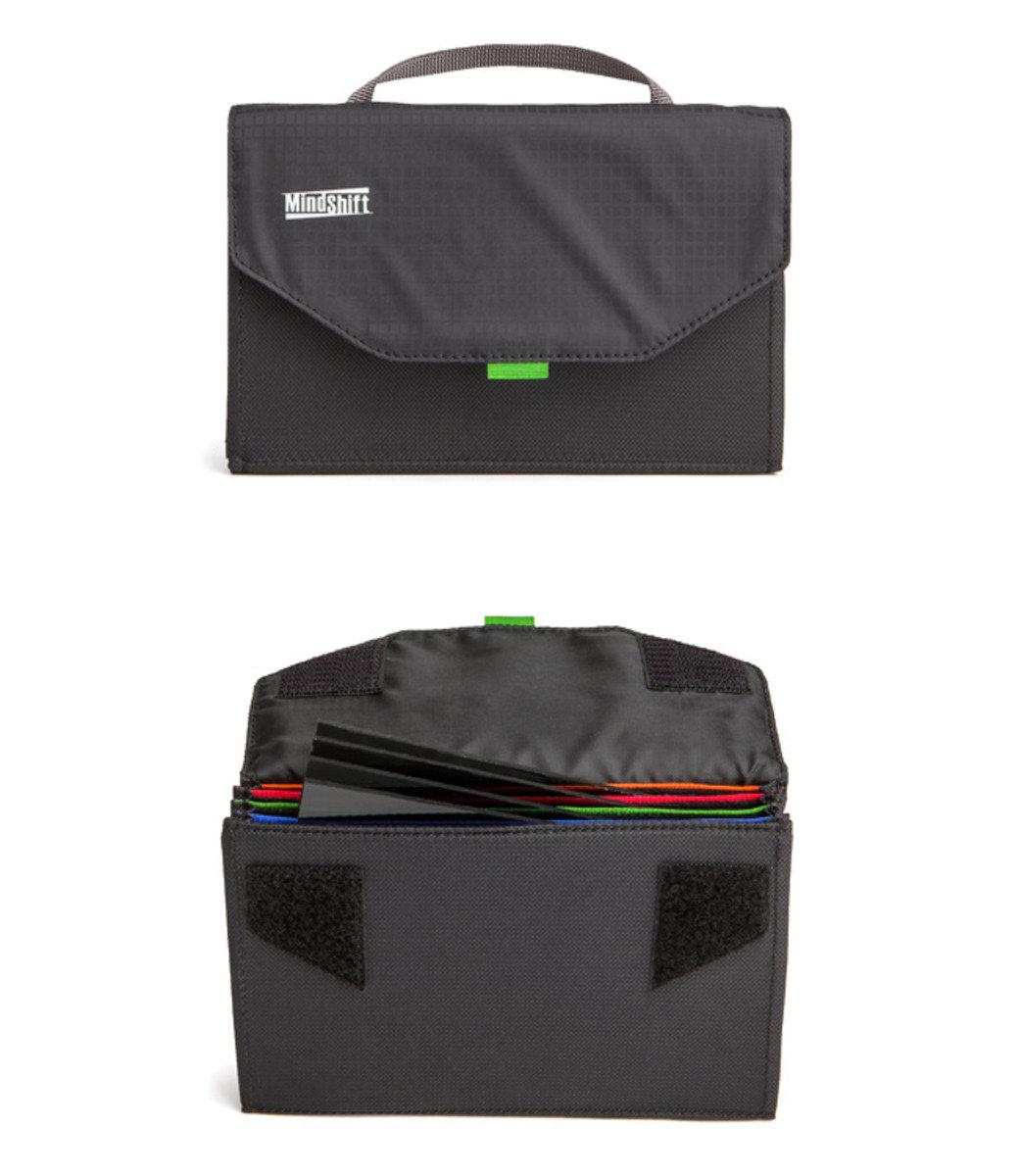 方形濾鏡收納包-黑色