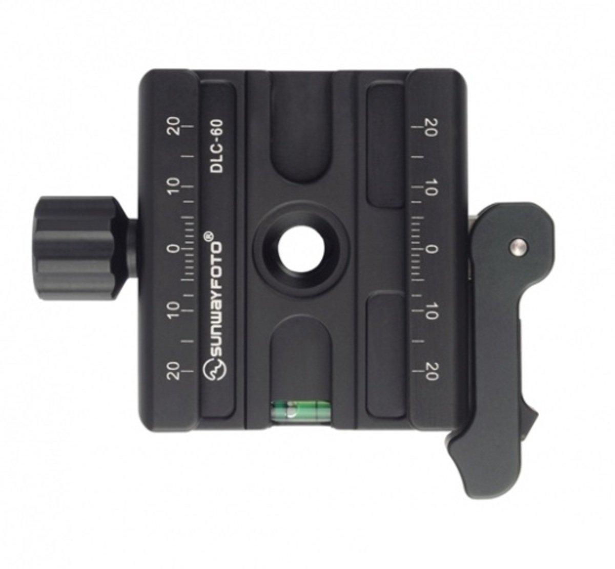 扳扣/旋鈕兩用夾座DLC-60