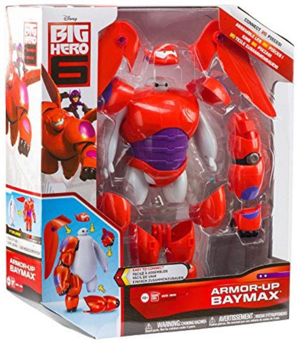 迪士尼 大英雄聯盟- BAYMAX Armor-Up 醫神變身武裝版