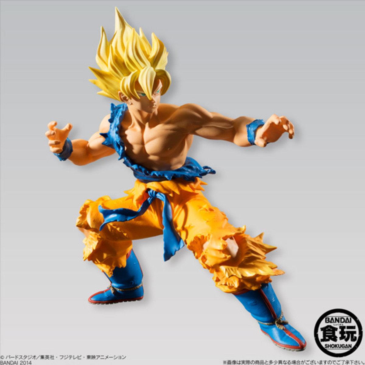 Dragon Ball Styling 超級撒亞人 孫悟空