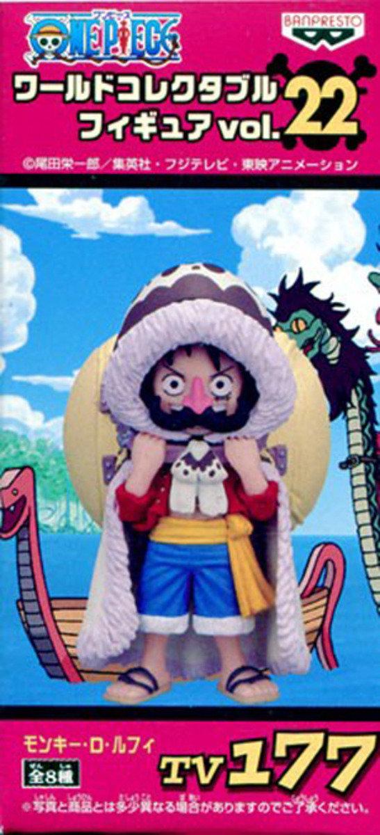 One Piece 海賊王 景品WCF  TV系列 Vol 22 - 路飛