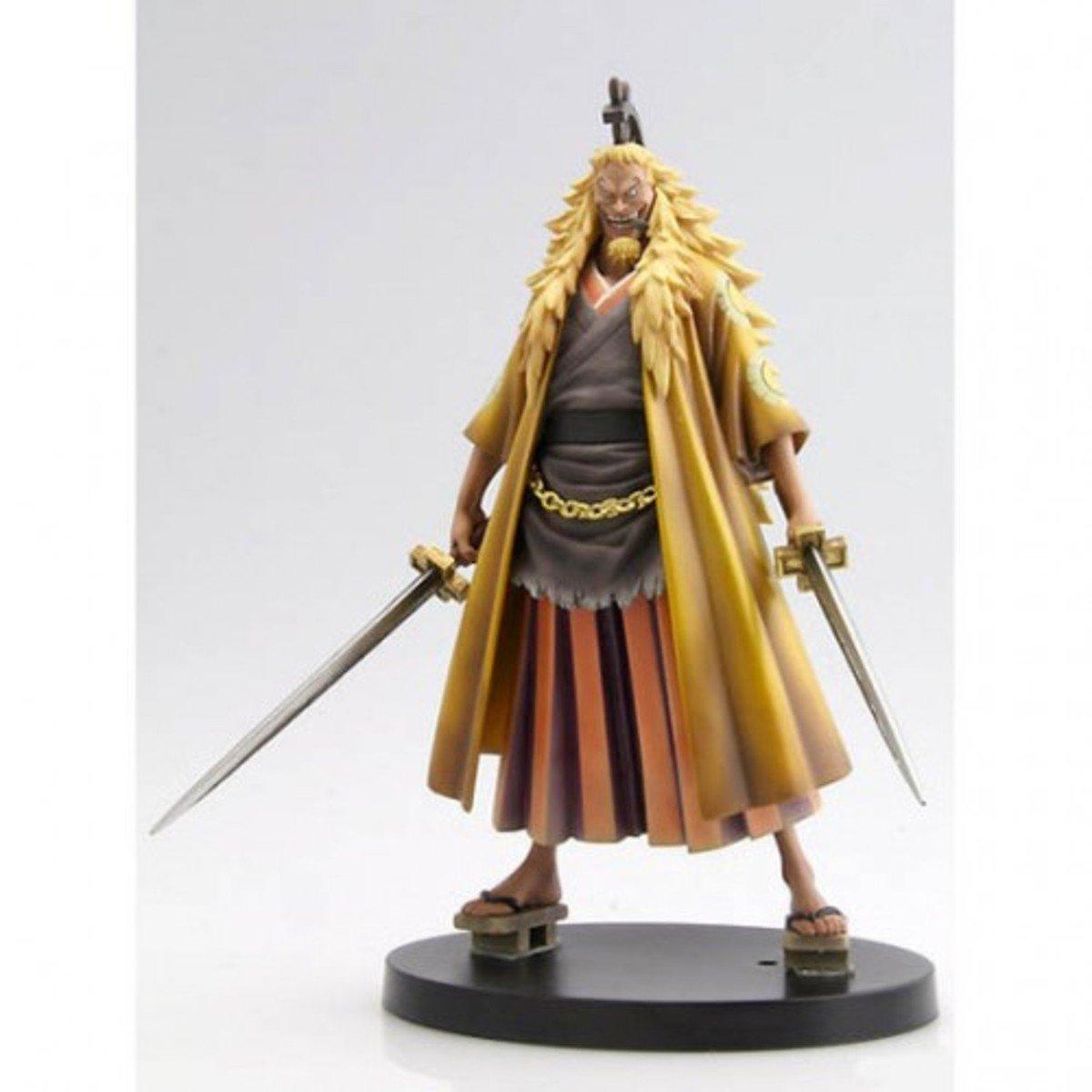 One Piece  海賊王 DX 景品 偉大航路的男人 vol 2 金獅子 史基