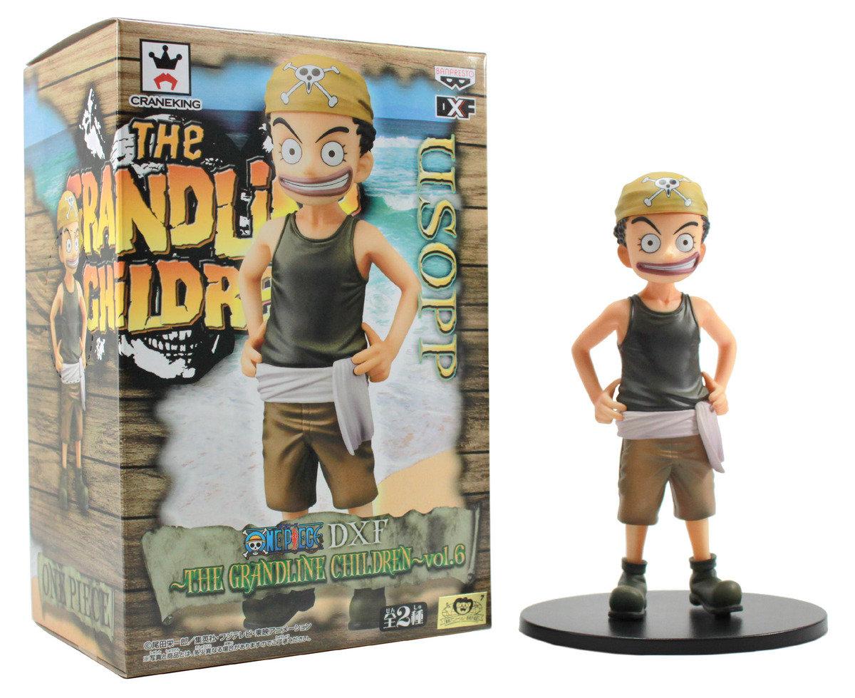 One Piece  海賊王 DX 景品  偉大航路小孩 vol 6 童年 烏索普