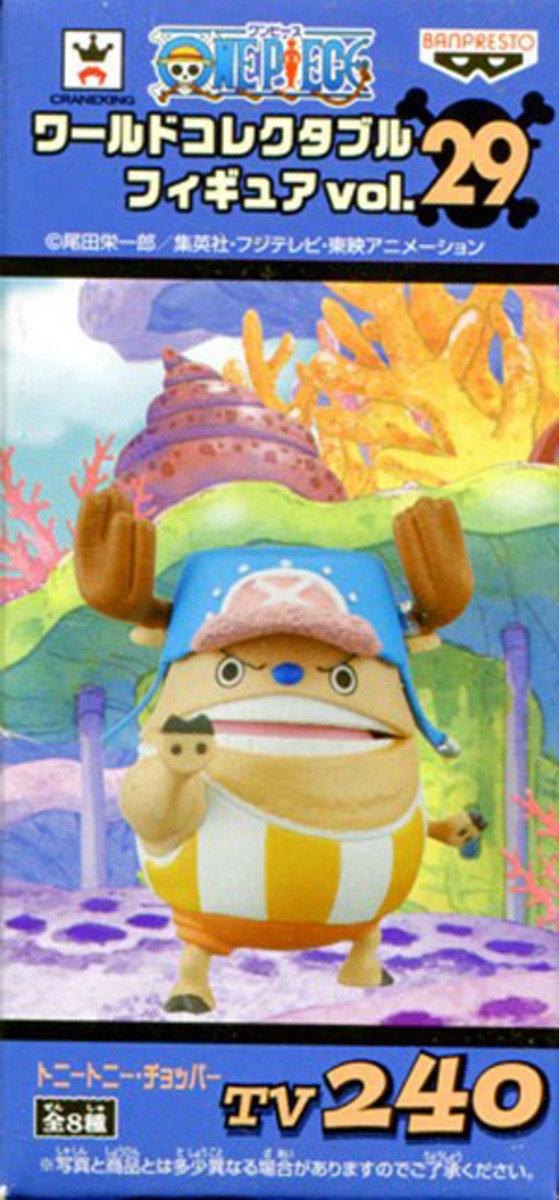 One Piece 海賊王 景品WCF  TV系列 Vol 29 - 柔力強化喬巴