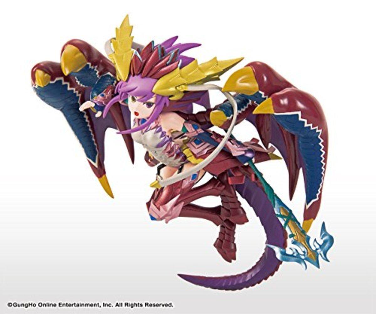 Puzzle & Dragon 龍族拼圖 景品  火龍女 現世の赤龍喚士・索妮亞