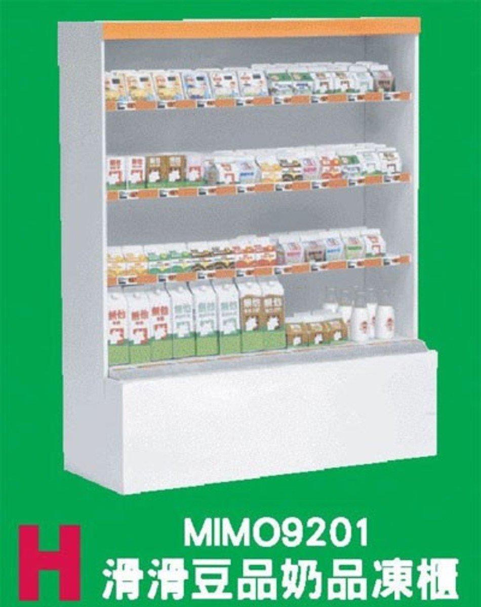 Mimo Shokugan, 7便利店情景 Set H 滑滑豆品奶品凍櫃