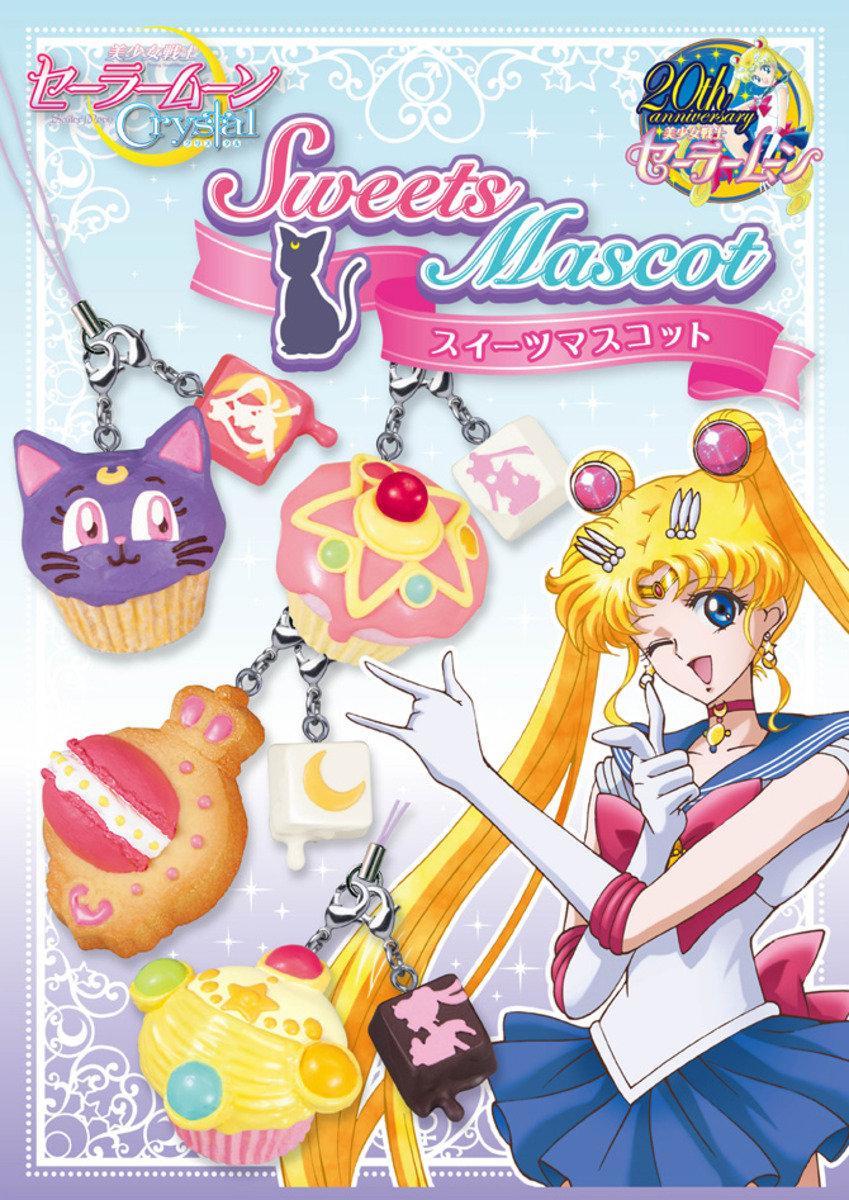 Re-ment 美少女戰士 Crystal Sweets Mascot 食玩 (一套6款)