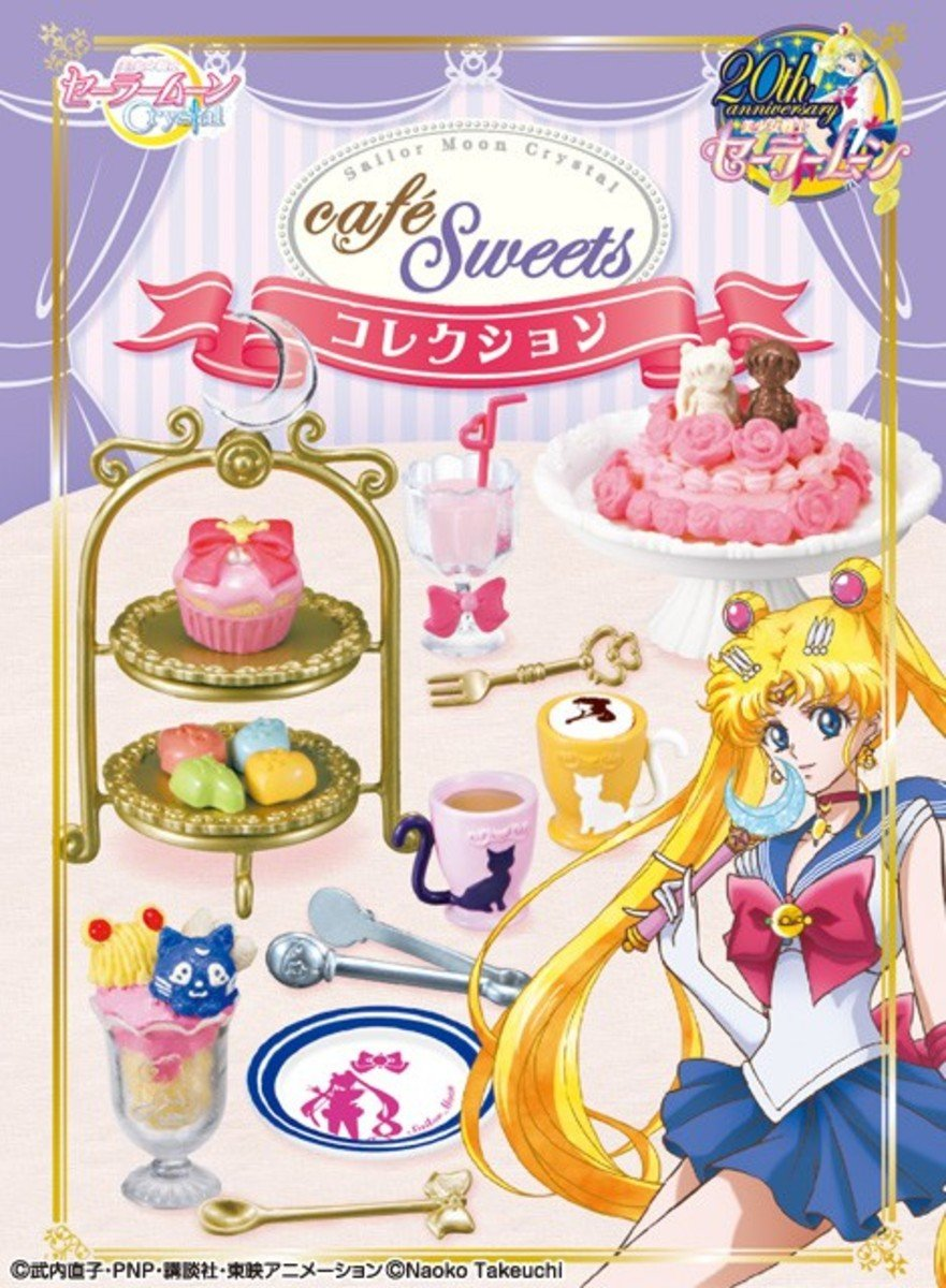 Re-ment 美少女戰士  Cafe Sweets Collection 食玩 (一套8款)