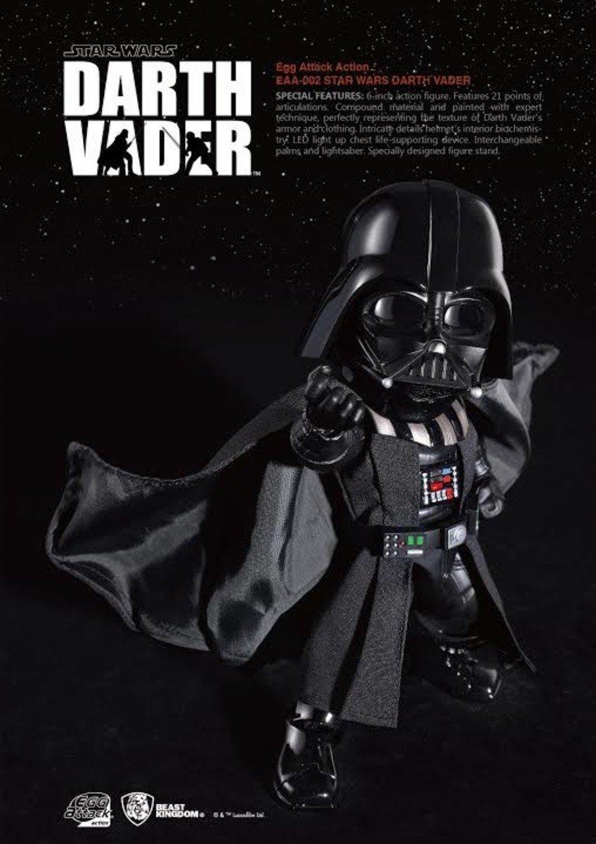 Egg Attack Action EAA-002 星球大戰五部曲:帝國大反擊 - 黑武士 Darth Vader 達斯.維德