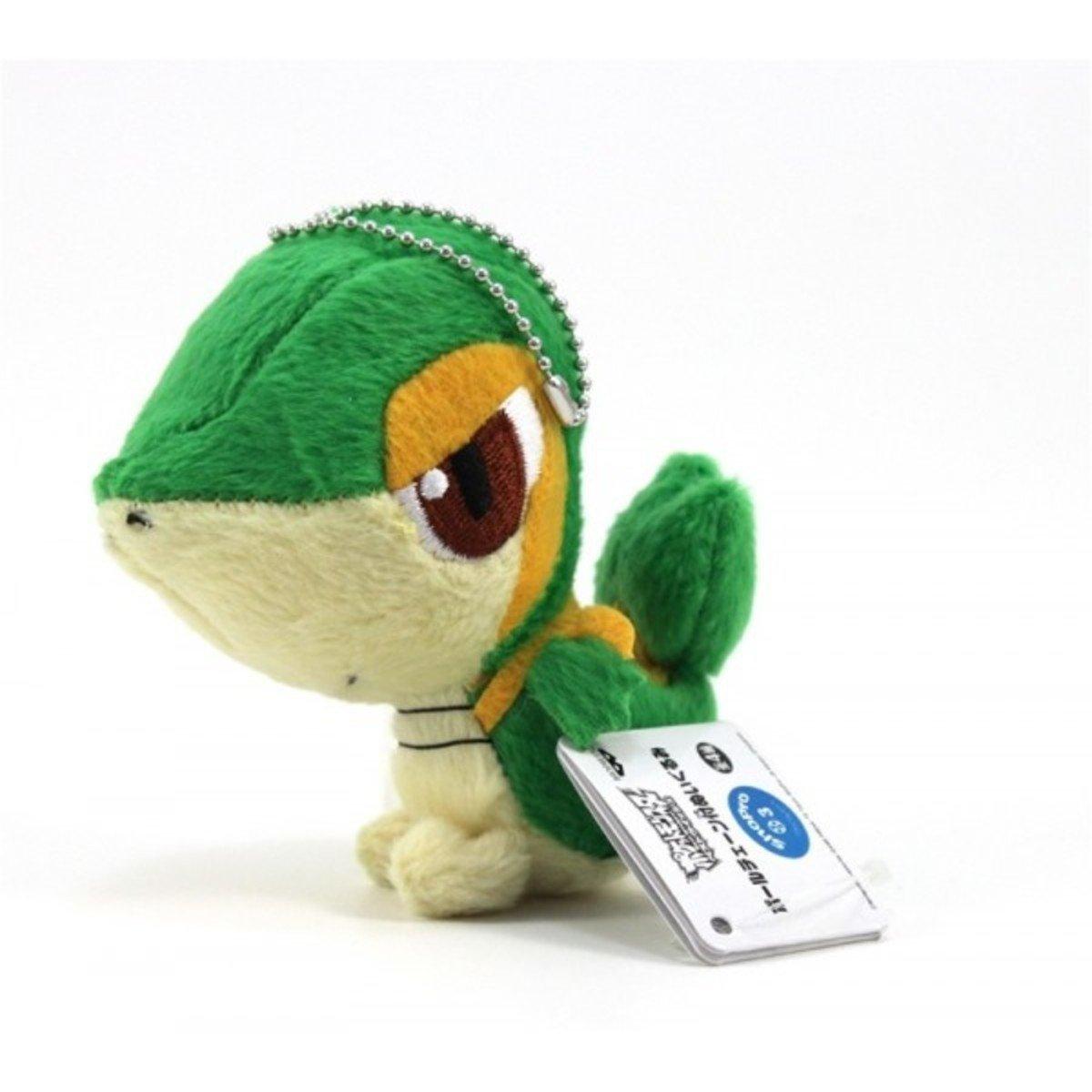 寵物小精靈 超級願望 葉藤蛇 迷你毛公仔鎖匙扣