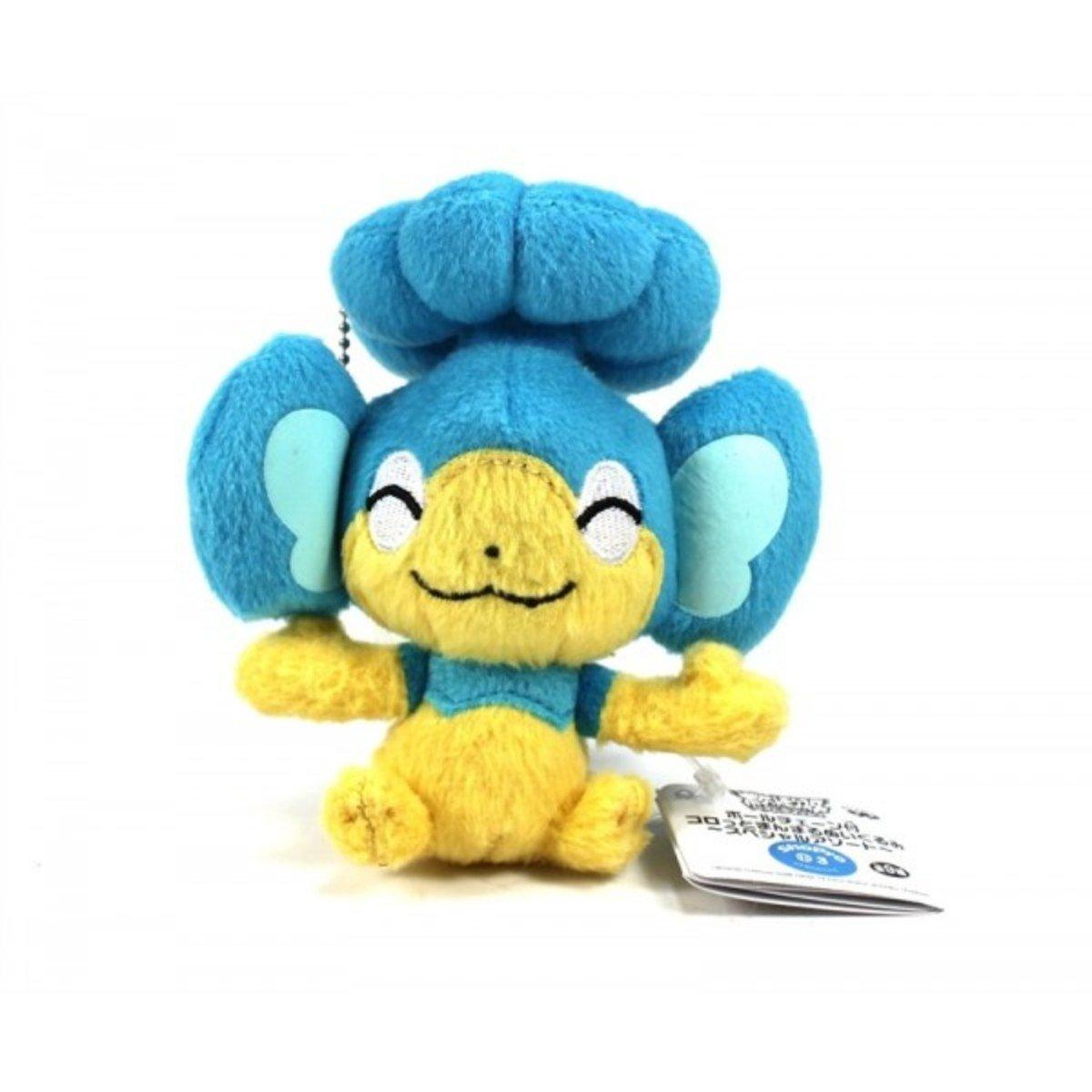 寵物小精靈 超級願望 冷水猴 迷你毛公仔鎖匙扣