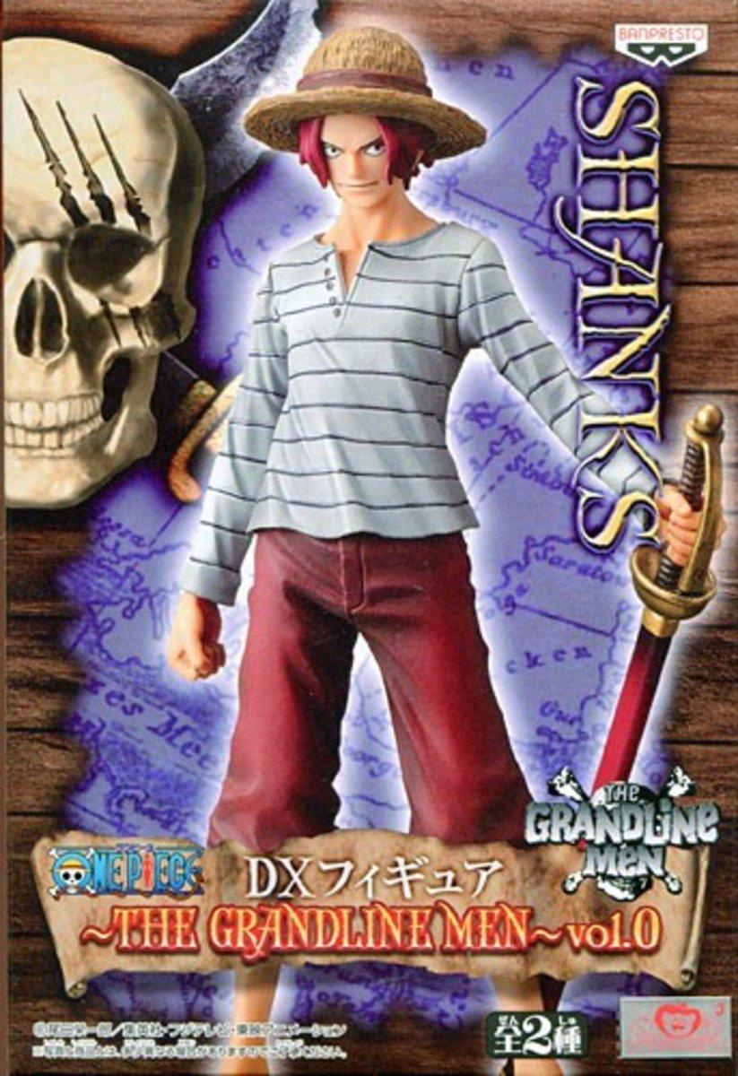 One Piece 海賊王 DX 景品 偉大航路的男人 VOL 0 年輕紅髮