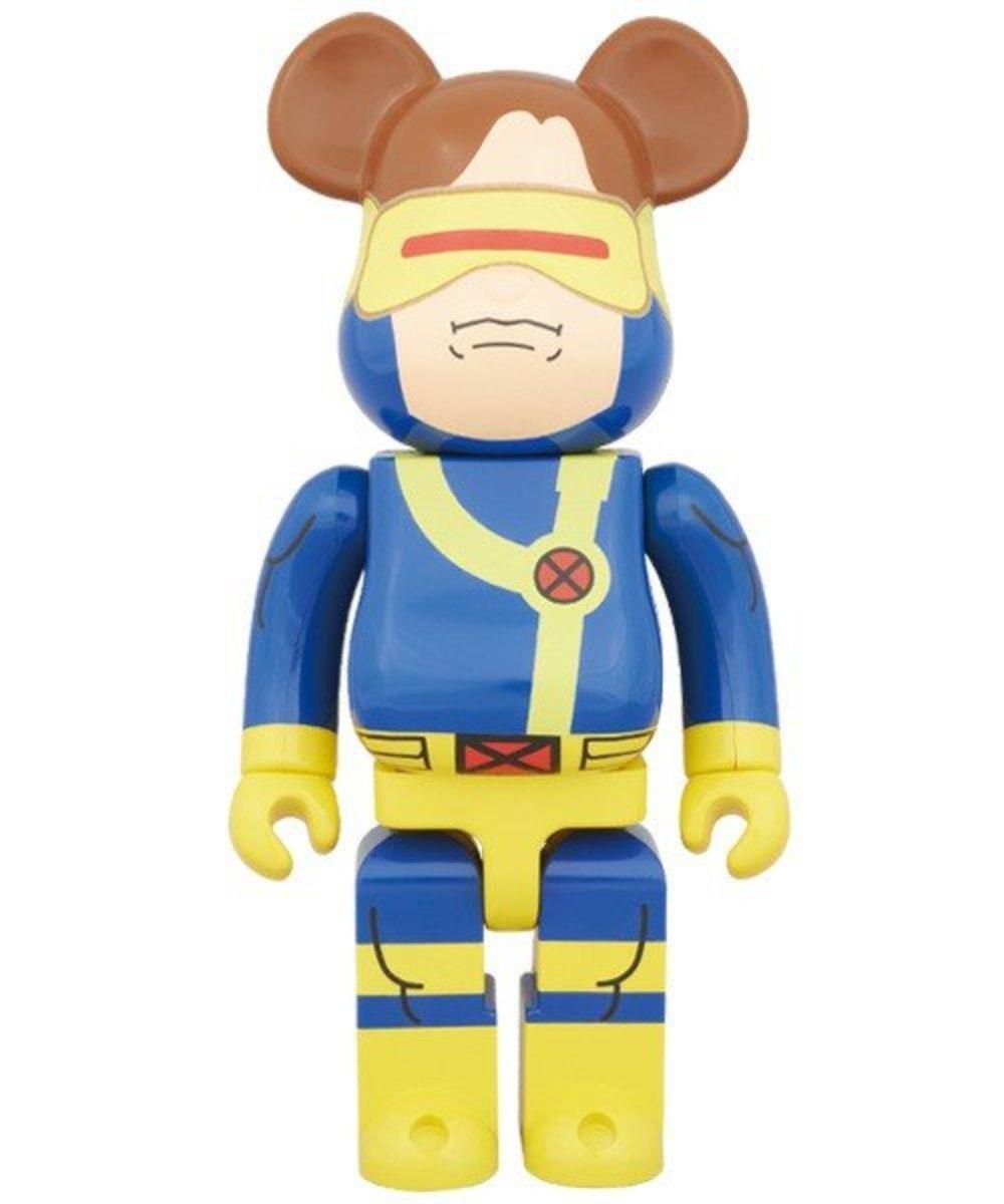400% Bearbrick x Marvel X-Men Cyclops 鐳射眼