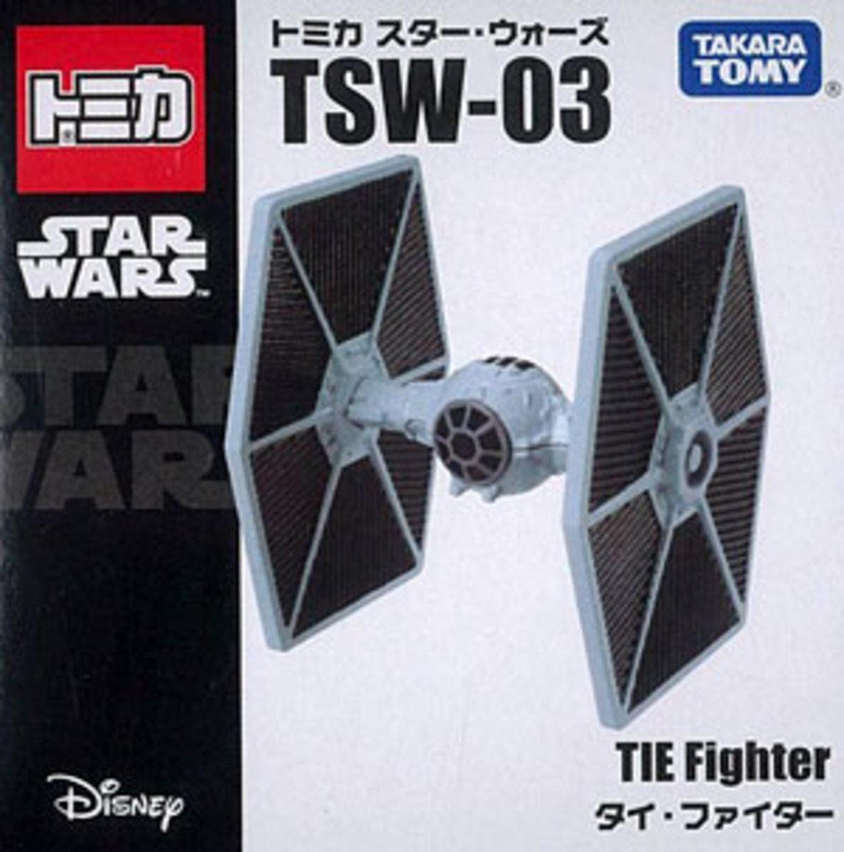 Star Wars 星球大戰系列 TSW-03 TIE Fighter 鈦戰機