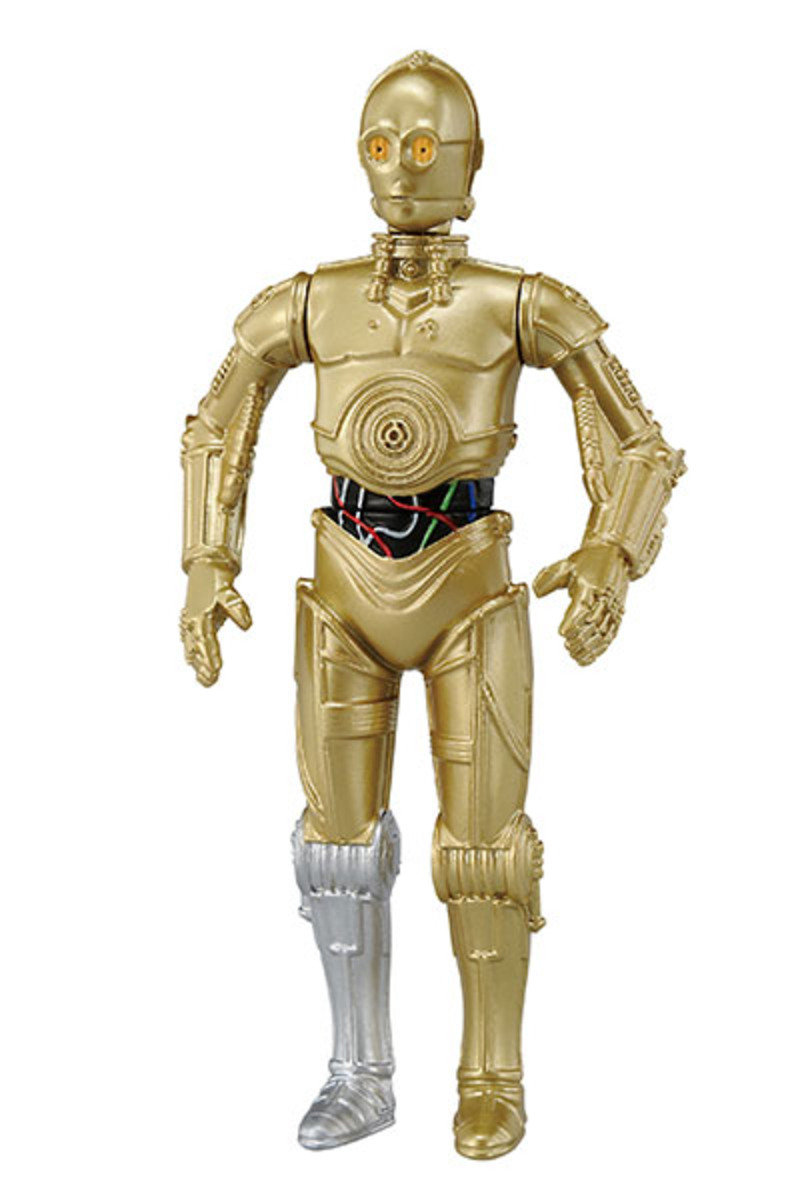 Star Wars 星球大戰 Metal Figure Collection #04 C-3PO