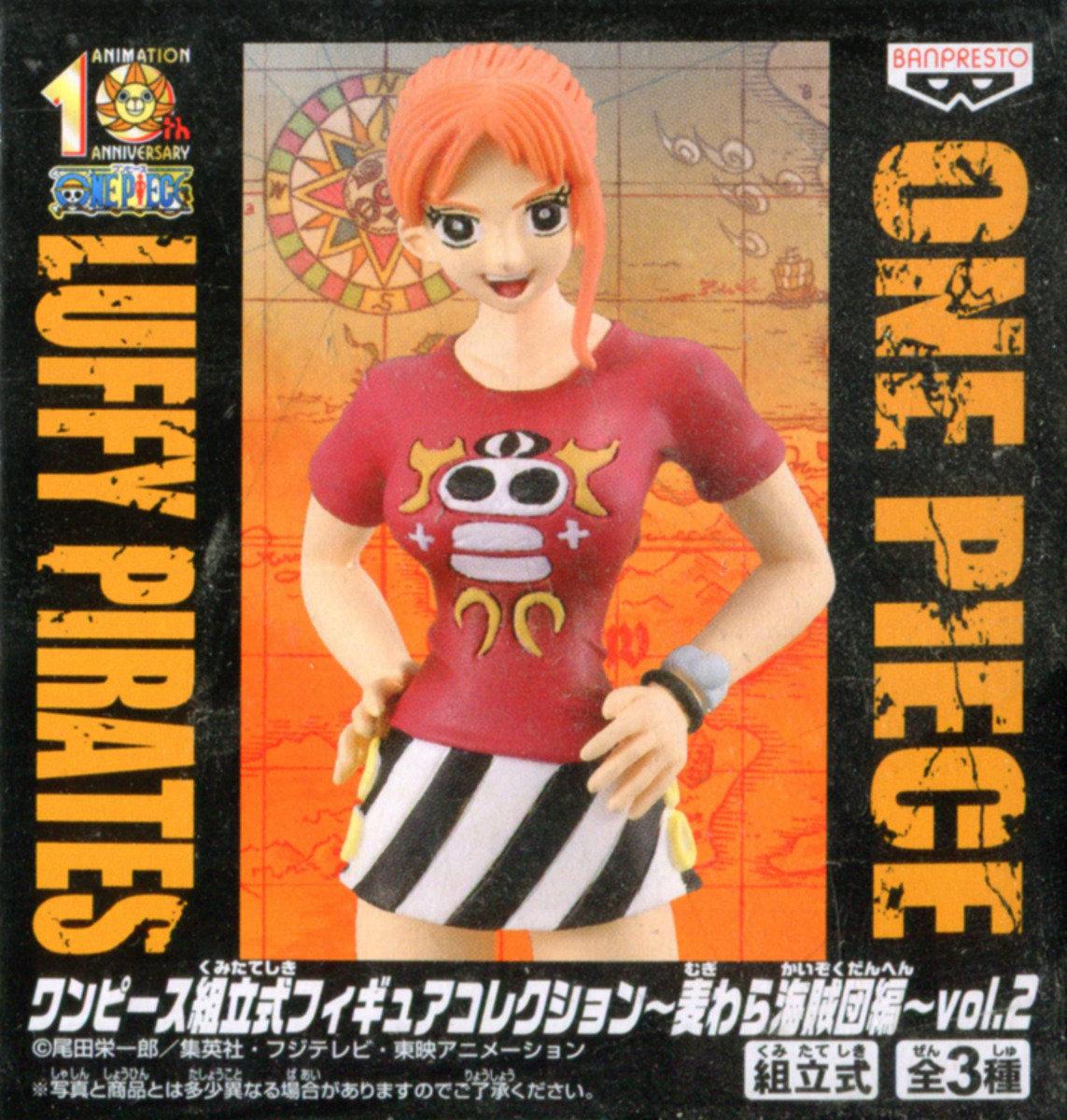 One Piece 海賊王 Figure Collection vol. 2 娜美