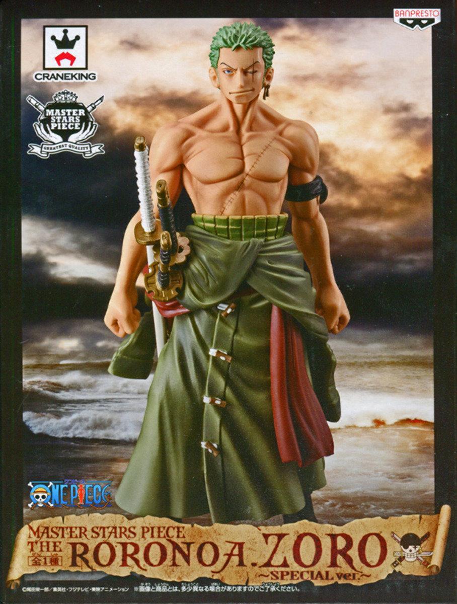 One Piece 海賊王 Master Stars Piece 景品 羅羅亞·卓洛 (特別版)