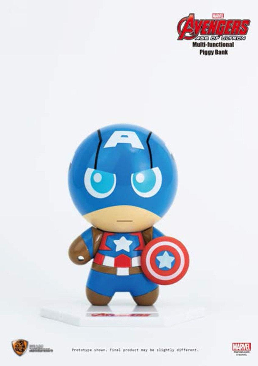 The Avengers復仇者聯盟2 多功能儲錢箱- Capatain America美國隊長