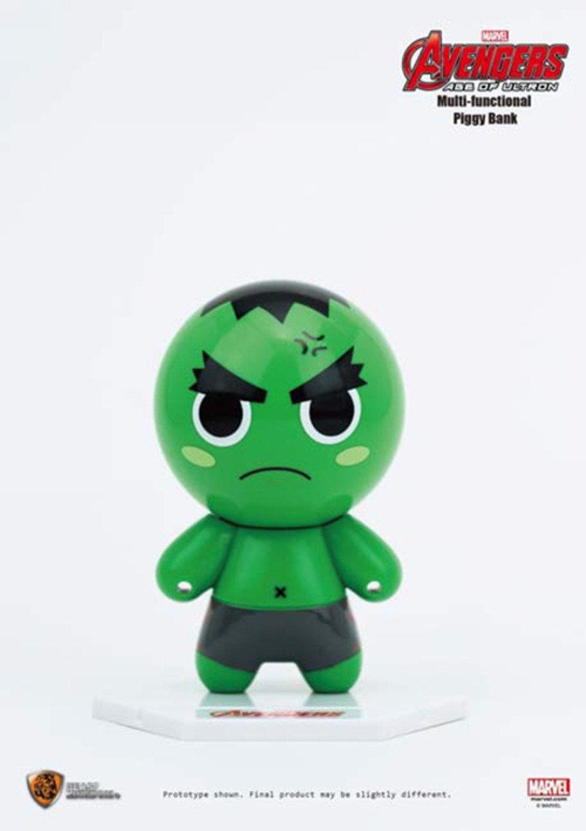 The Avengers復仇者聯盟2 多功能儲錢箱- Hulk 變形俠醫 浩克