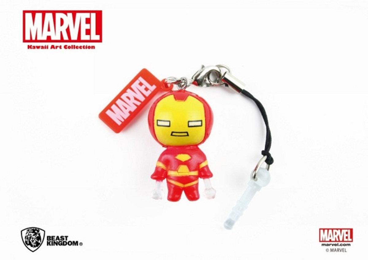 Marvel Kawaii 公仔耳機塞 - Iron Man 鐵甲奇俠