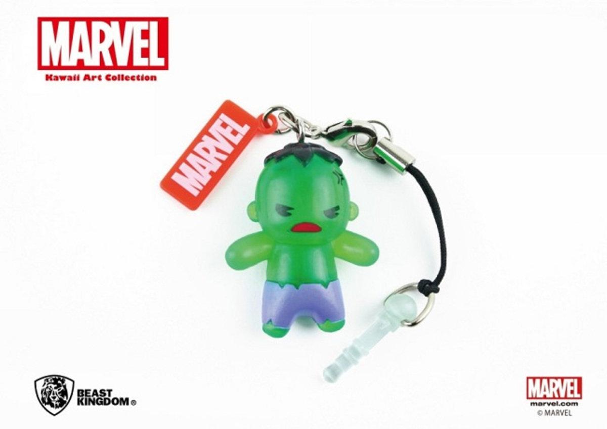 Marvel Kawaii 公仔耳機塞 - Hulk 變形俠醫 浩克