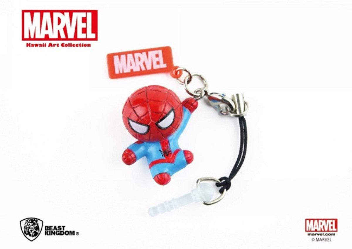 Marvel Kawaii 公仔耳機塞 - Spider Man 蜘蛛俠