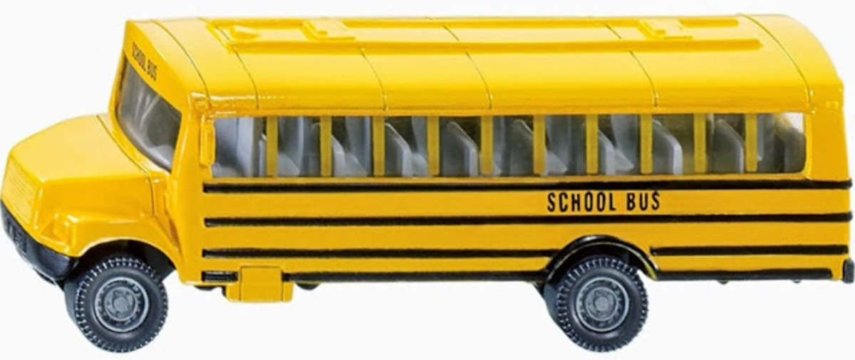 1319  US School Bus 美國校車巴士