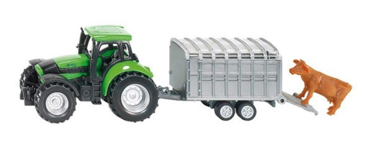 1640  Tractor with Stock Trailer 拖拉機運輸車 運牛車