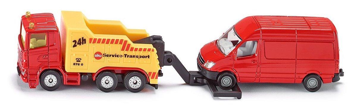 1667 Breakdown Truck with Van 拖車& 小型客貨車
