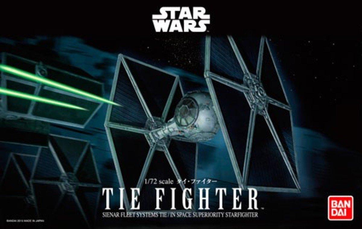 Star Wars 星球大戰 1/72 TIE Fighter 鈦戰機 模型