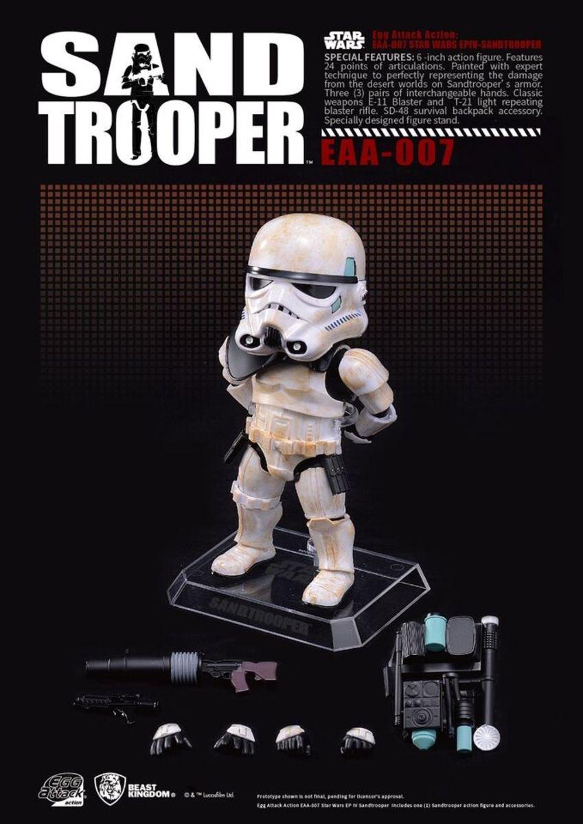 Egg Attack Action EAA-007 星球大戰IV : 新希望 -  Sandtrooper 沙漠暴風兵