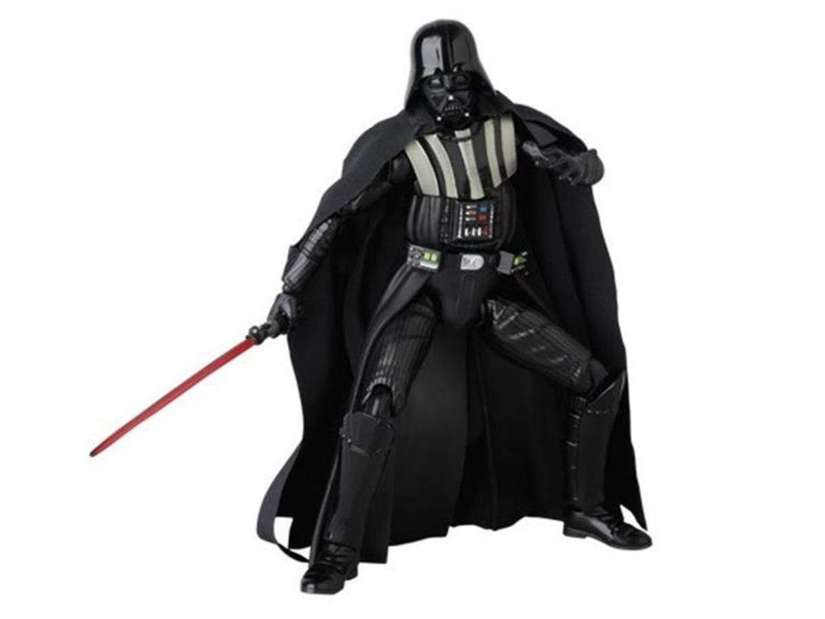 Star Wars 星球大戰  Mafex 006 Darth Vader 黑武士