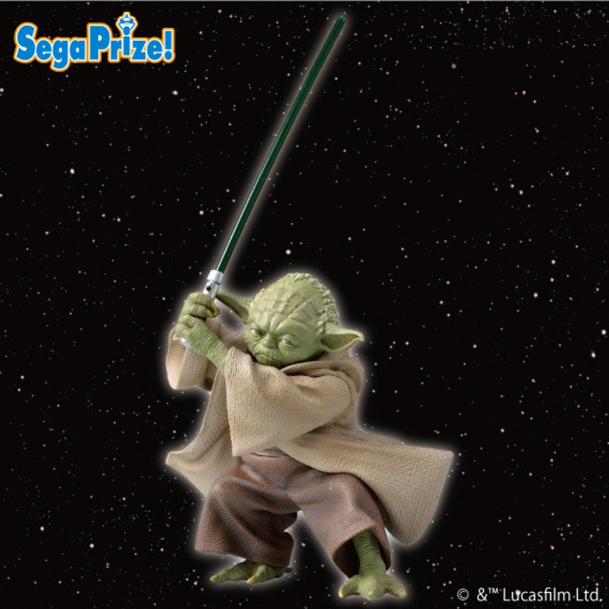 景品 Star War 星球大戰 1/10  Premium Figure Yoda   尤達大師