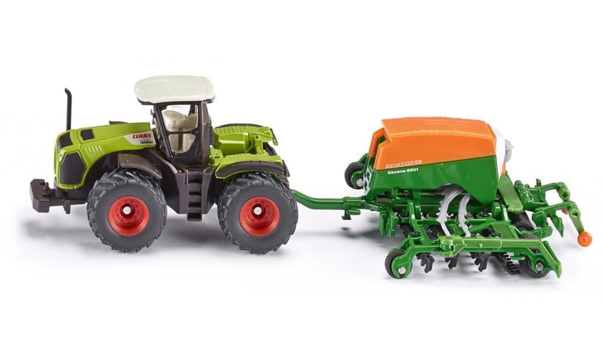 1826 Tractor with Amazone Cayena 6001 Seeder  拖拉機帶亞馬遜播種機