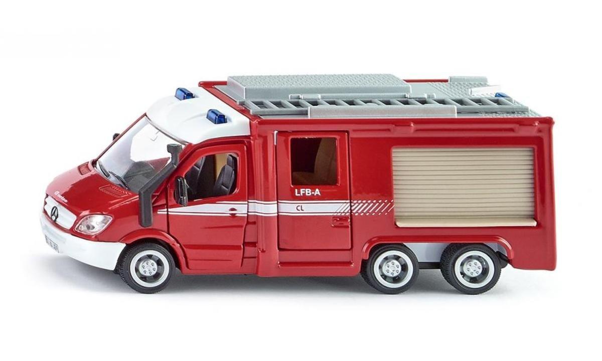 2113, 1:50 Mercedes-Benz Sprinter 6x6 Fire Engine 平治 帶救火梯式消防車