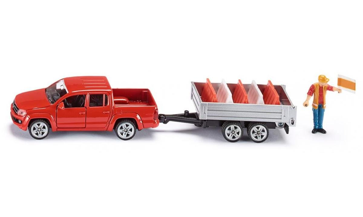 3543, 1:55 Pick-Up with Tipping Trailer 道路工程車套裝