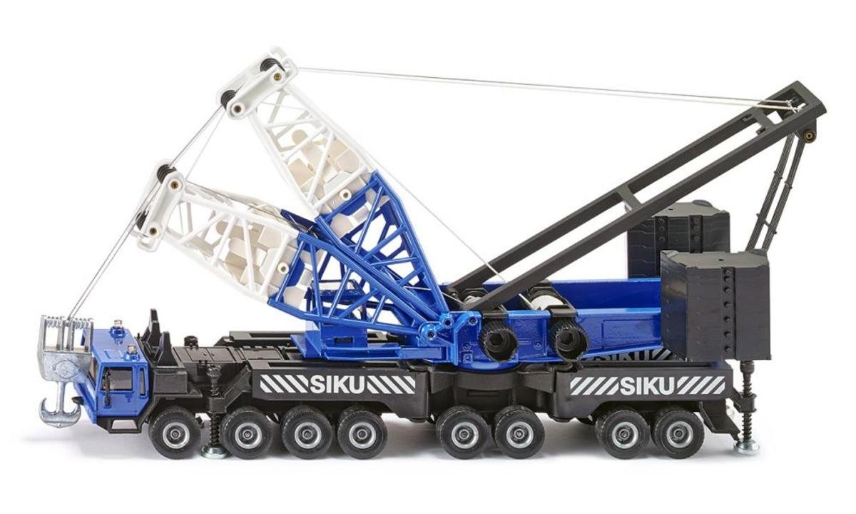 4810, 1:55 Heavy Mobile Crane (Blue) 重型移動式起重機 吊車(藍色)