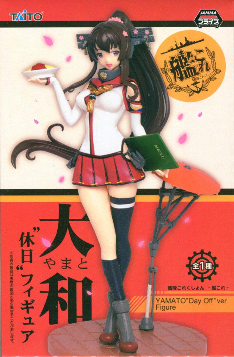 景品 Prize Figure 艦隊Collection- 艦娘 Yamato大和 (Day Off Ver.)