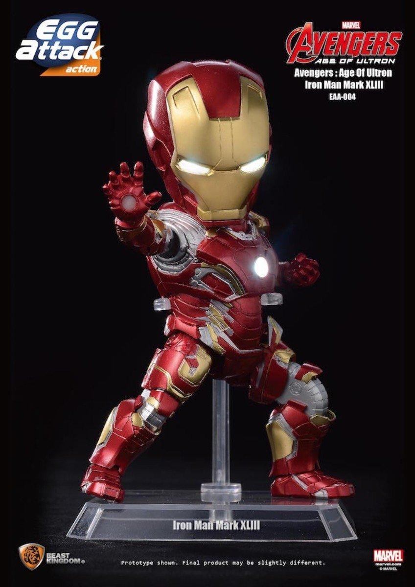 Egg Attack Action 系列 EAA-004 復仇者聯盟2:奧創紀元- 鐵甲奇俠 Iron Man Mark 43