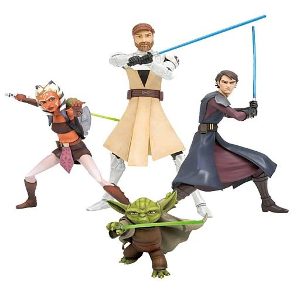 Star Wars 星球大戰 系列 Jedi 絕地大師 組合套裝 (+Bonus Parts)