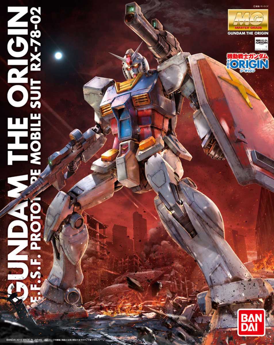 1/100 MG E.F.S.F Prototype Mobile Suit RX-78-02, Mobile Suit Gundam: The Origin