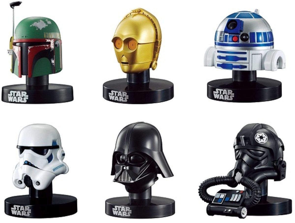 星球大戰 頭盔 系列 (一套6款)