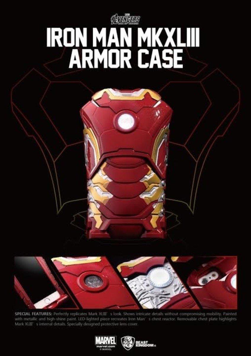 Avengers: Age Of Ultron 復仇者聯盟2:奧創紀元- 鐵甲奇俠 Iron Man Mark 43 裝甲 iPhone Case