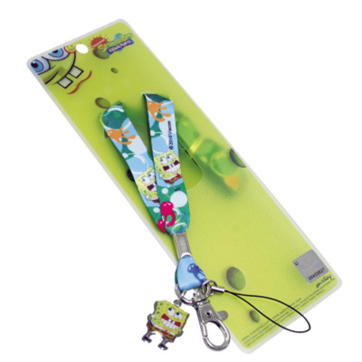 海綿寶寶公仔吊飾手機繩 C款