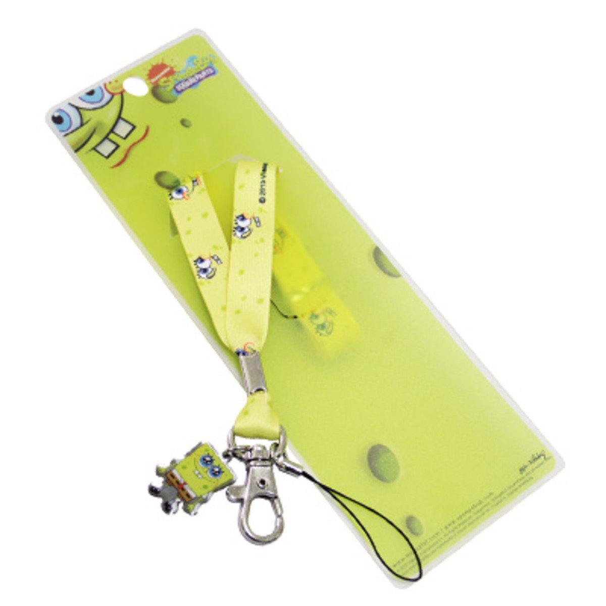 海綿寶寶公仔吊飾手機繩 D款
