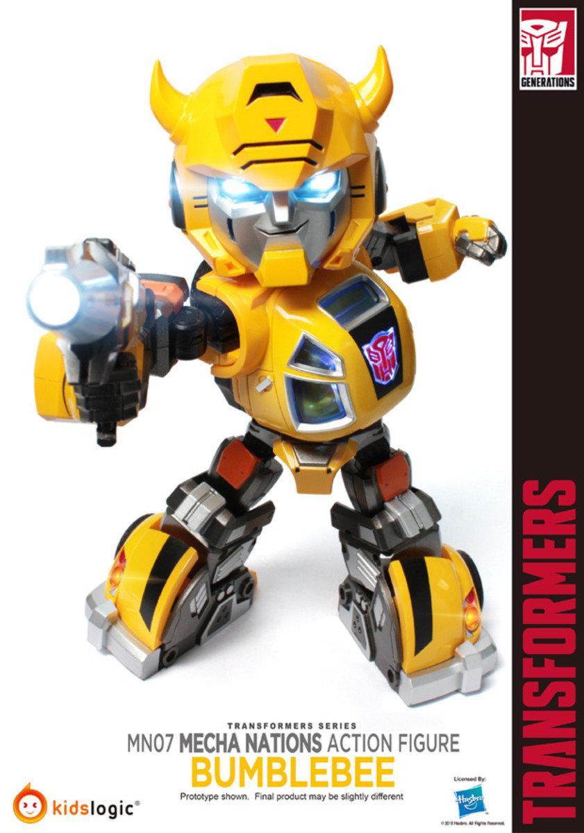 Transformers 變形金剛 Mecha Nations MN-007 Q版 大黃蜂