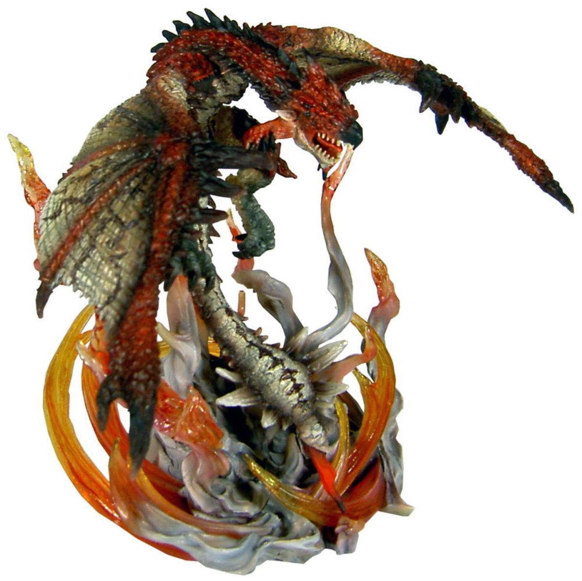 怪物獵人 D.M.A. 系列 VOL.1 炎之 火龍 雄火龍 (限量版)