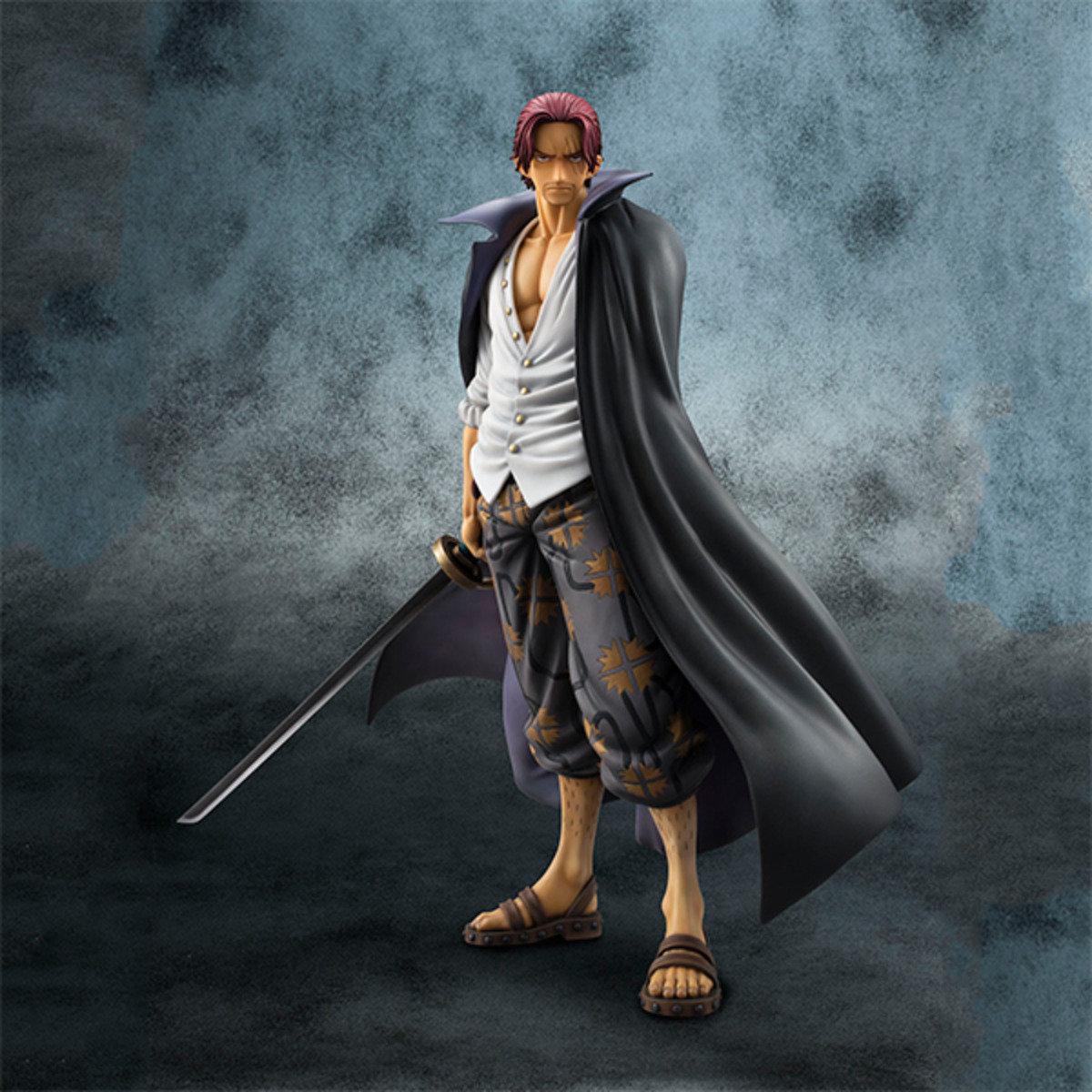 海賊王 1/8 Excellent Model Portrait Of Pirates 系列 NEO-DX  四皇 – 紅髮香克斯
